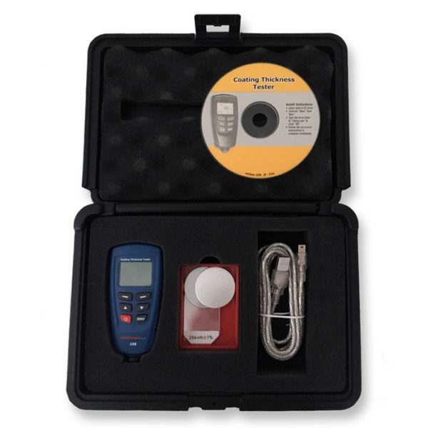 156 USB Coating Thickness Gauge and Accessories