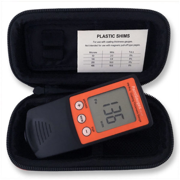 FN Pro Coating Thickness Gauge and Accessories